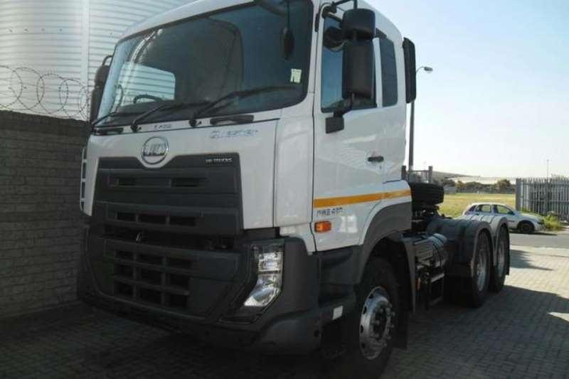 UD Truck-Tractor Double Axle Quester GWE 420 6x4 Truck Tractor withHydraulics 2019