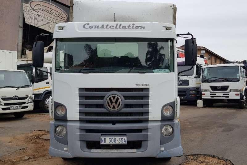 VW Closed body CONSTELLATION 15 180 Truck