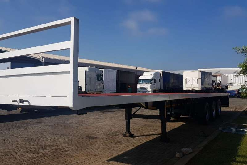ZN Tri-Axle FLATDECK Trailers
