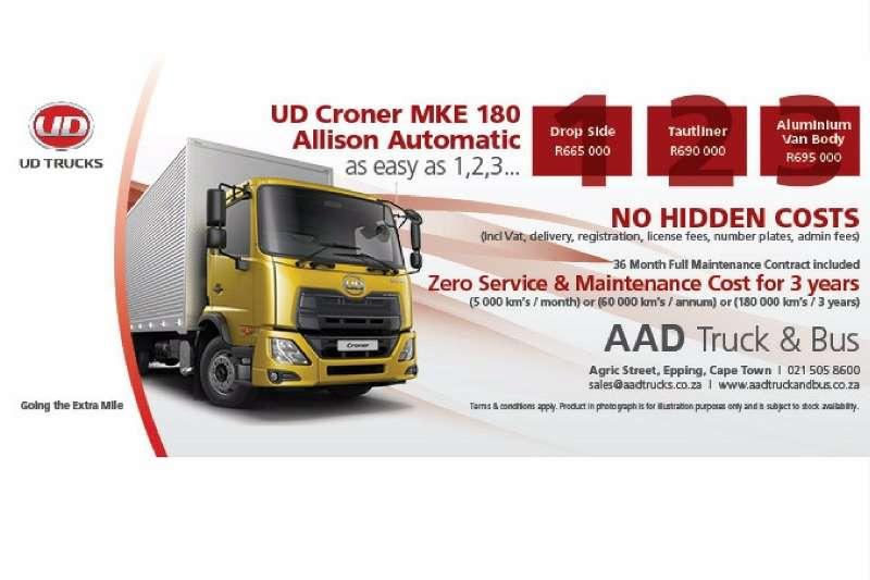 UD UD Van body/Taughtliner/Drop Side special