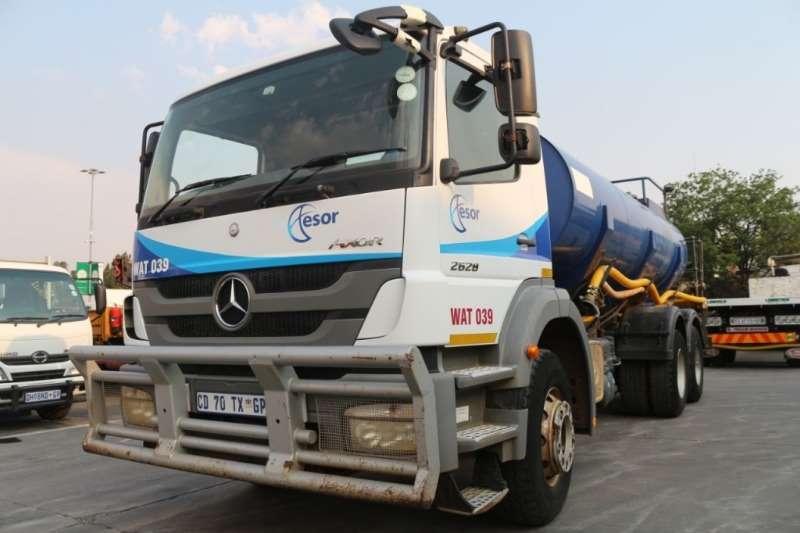 Mercedes Benz Axor 2628 6x4 14000L Water Tank